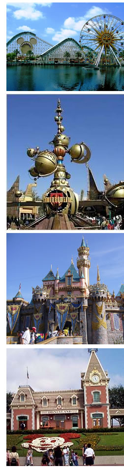 Disneyland- Theme Parks, Three Hotels, Downtown Disney, Anaheim California