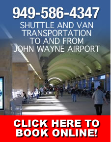 Book Online-Orange County Airport Shuttle
